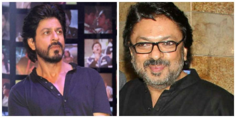 Shah Rukh Khan and Sanjay Leela Bhansali