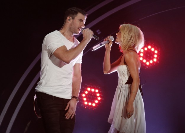 Sam Hunt and Carrie Underwood