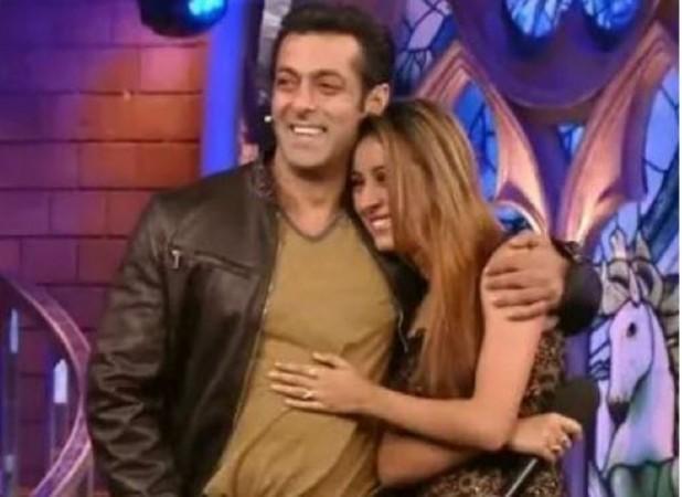 Salman Khan and Pratyusha Banerjee