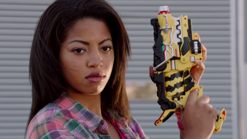 Camille Hyde as Shelby/Pink Ranger
