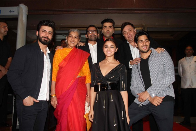 Kapoor and Sons success party