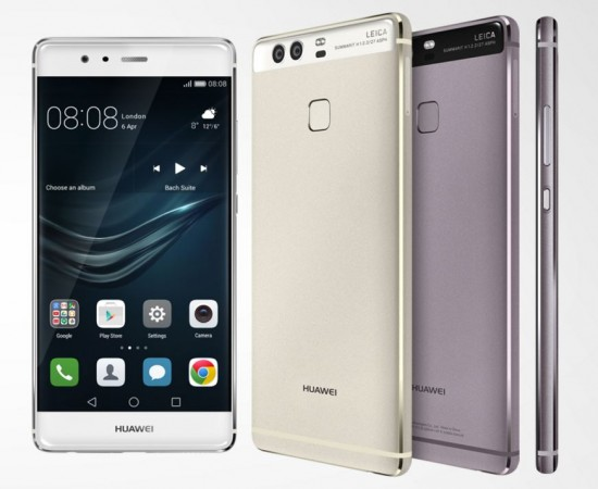 Huawei unveils flagship P9, P9 Plus with dual-cameras co-engineered by Leica