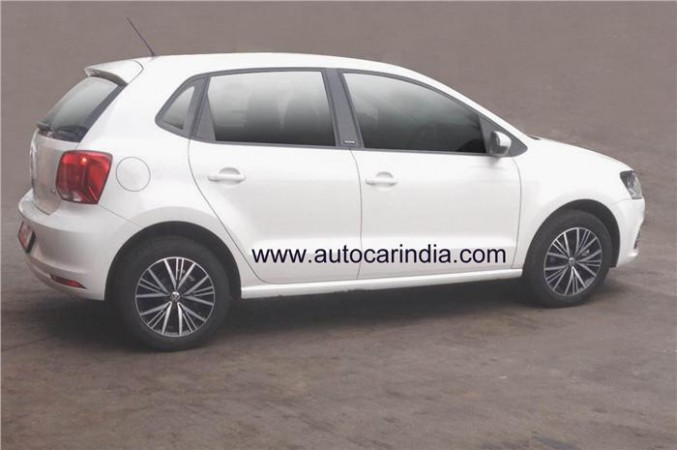Volkswagen Polo Allstar spied