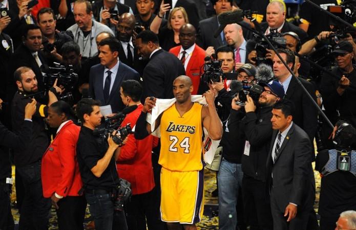 Kobe Bryant LA Lakers last game
