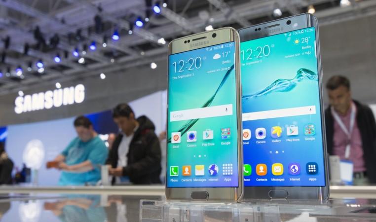 Samsung Galaxy S6 edge  seen at the IFA in Berlin