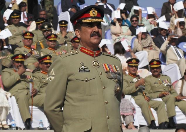 Pakistan Army Chief Raheel Sharif