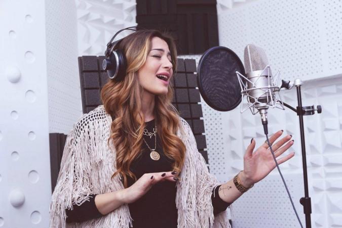 Iveta Mukuchyan, the Armenian entry for Eurovision