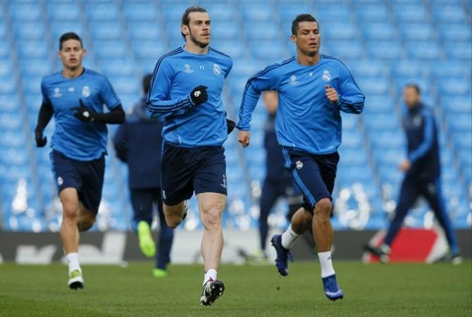 James Rodriguez Gareth Bale Cristiano Ronaldo Real Madrid