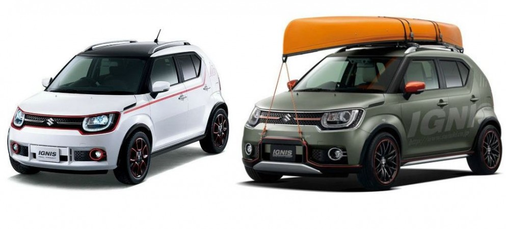 Suzuki Ignis Trail Water Activity