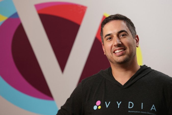 Roy LaManna, the CEO of Vydia and Trendsetter Marketing
