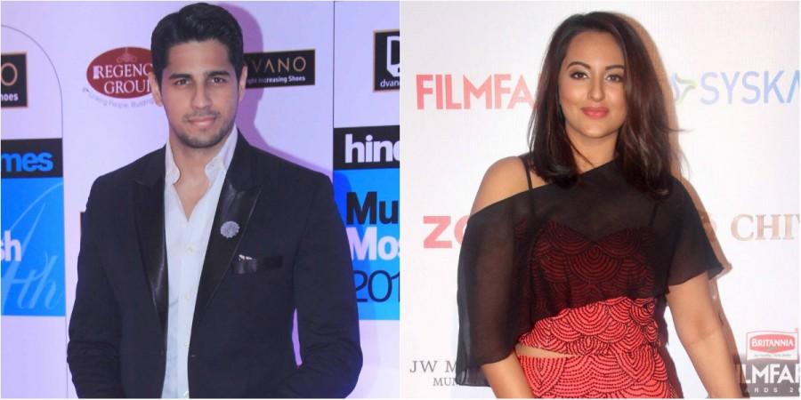 Sidharth Malhotra and Sonakshi Sinha
