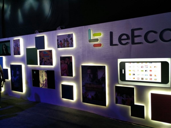 LeEco Supertainment live coverage