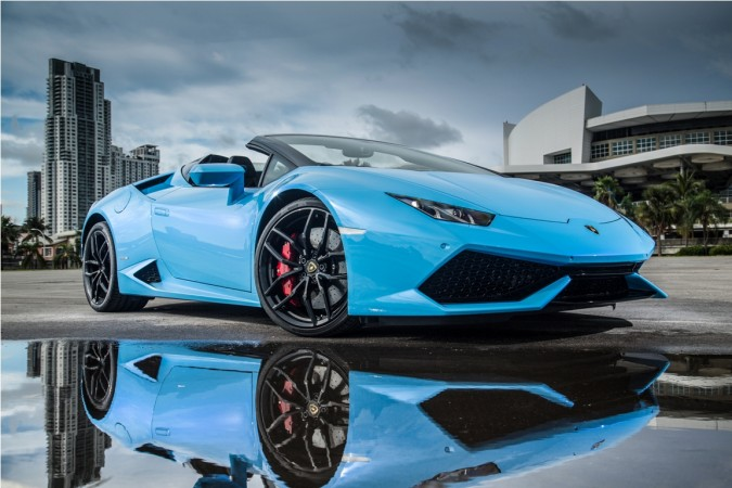Lamborghini Huracan Lp 610 4 Spyder Launched At Rs 389
