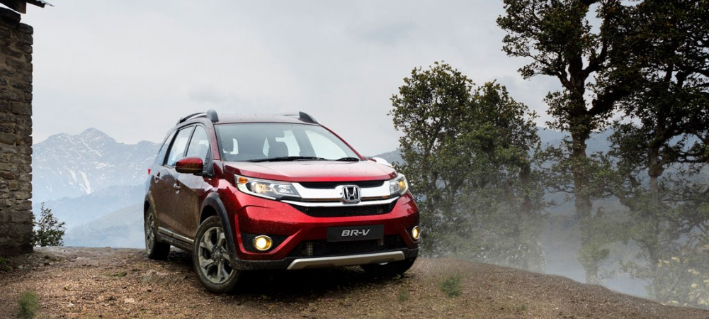 Honda Cars India Launches Br V Its First Compact Suv Price