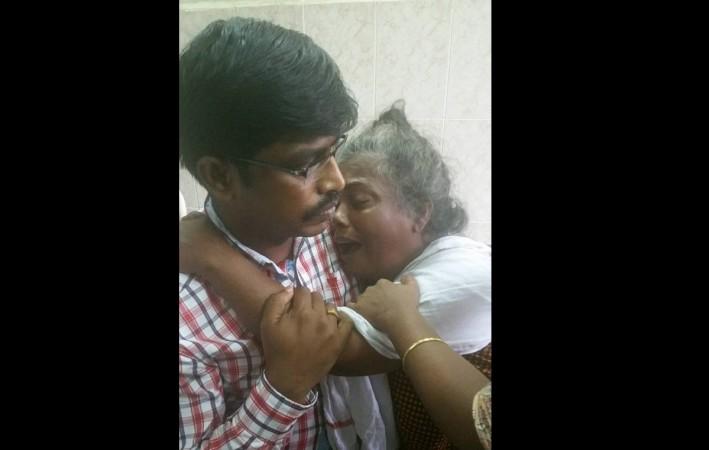 District Collector of Ernakulam with Rajeshwari