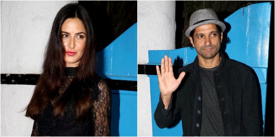 Katrina Kaif and Farhan Akhtar