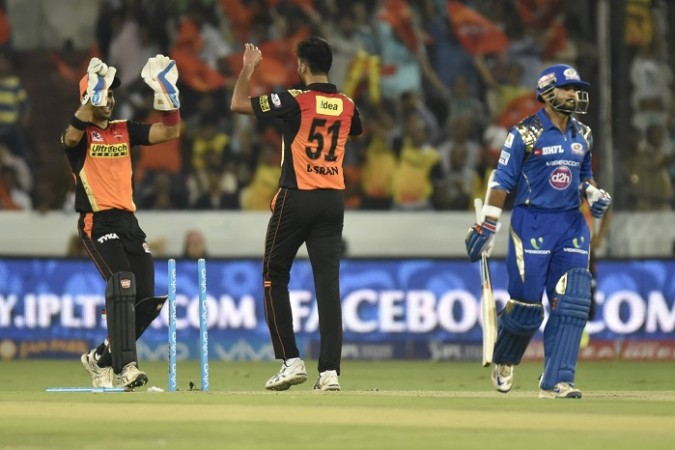 Mumbai Indians Sunrisers Hyderabad
