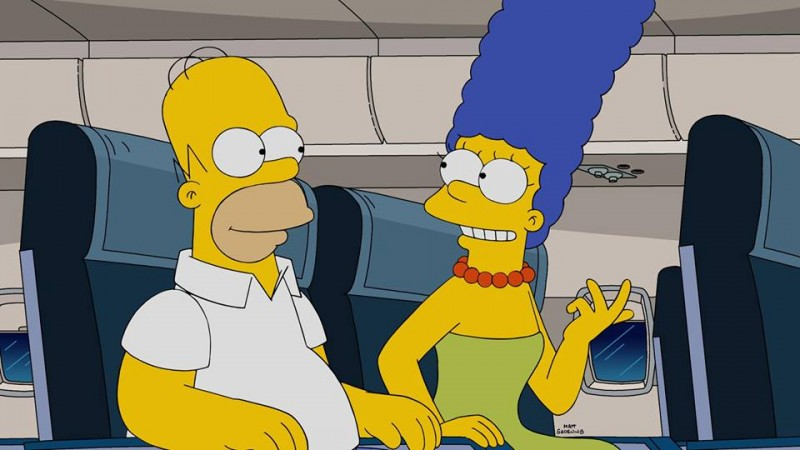 Homer takes Marge on a trip to Paris in next episode