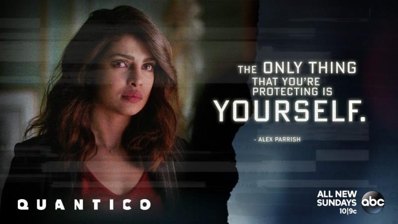 "Priyanka Chopra as Alex Parrish in ""Quantico"""