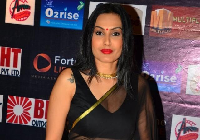 Kamya Punjabi gets threat calls. Pictured: Kamya Punjabi at Dadasaheb Phalke Film Foundation Award 2016, Mumbai.
