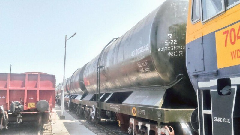 Water train for Latur