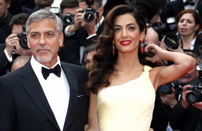Image result for george clooney and amal alamuddin