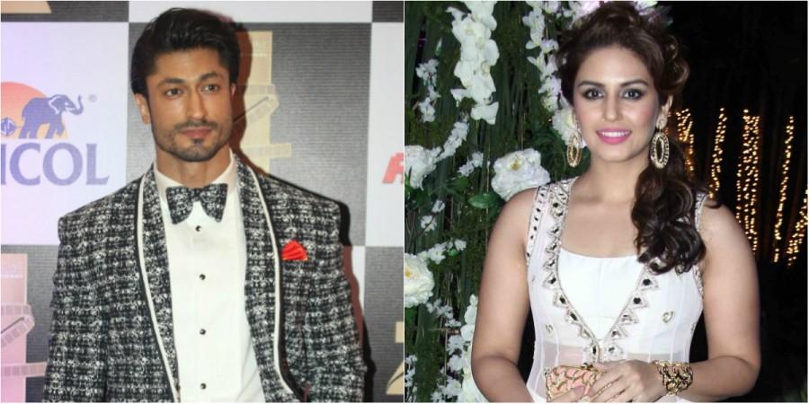 Vidyut Jammwal and Huma Qureshi