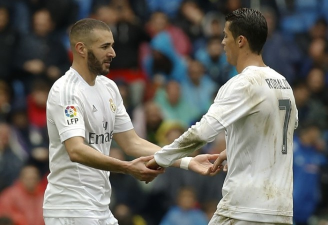 Real Madrid Ronaldo Benzema