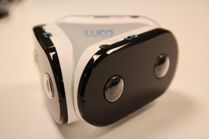 Lucid VR camera