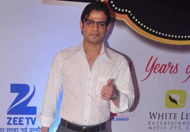 "Karan Patel lands in a fight with the director of ""Yeh Hai Mohabbatein""? Pictured: Karan Patel at the Zee TV`s Gold Awards 2015 in Mumbai"
