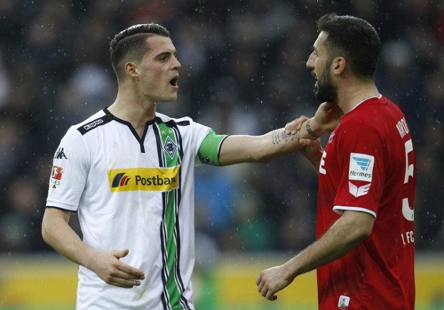 Granit Xhaka Borussia Monchengladbach Dominic Maroh Koln