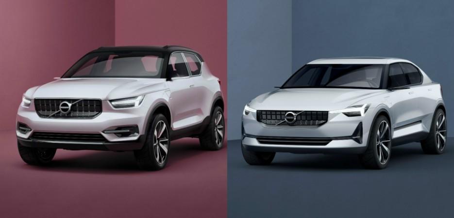 Volvo Concept 40.1, Concept 40.2 previews design of future small cars