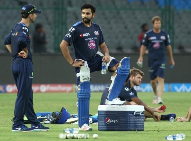 Rohit Sharma Ricky Ponting Mumbai Indians