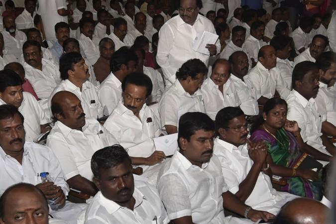 dmk stalin swearing in jayalalithaa amma tn chief minister