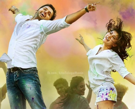 Nithin and Samantha in