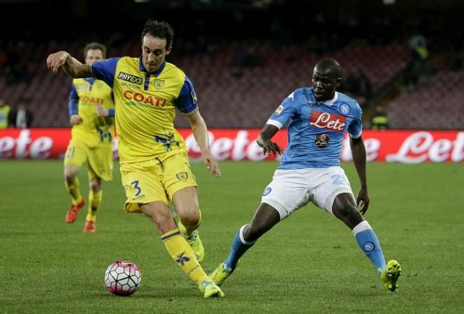 Chievo Dario Dainelli Napoli Kalidou Koulibaly