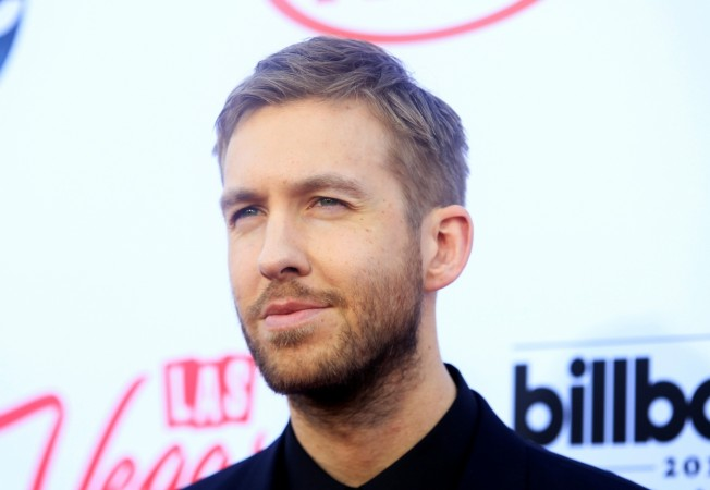Calvin Harris was in a car srash recently
