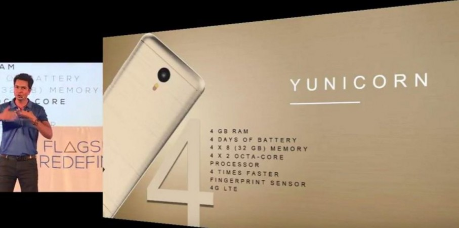 Metal-clad YU Yunicorn with fingerprint sensor launched in India; price, specifications