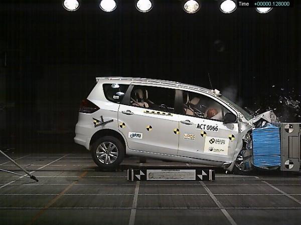 Suzuki Ertiga crash test