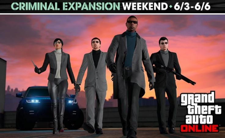 GTA 5 Online:' Rockstar releases new weekend event