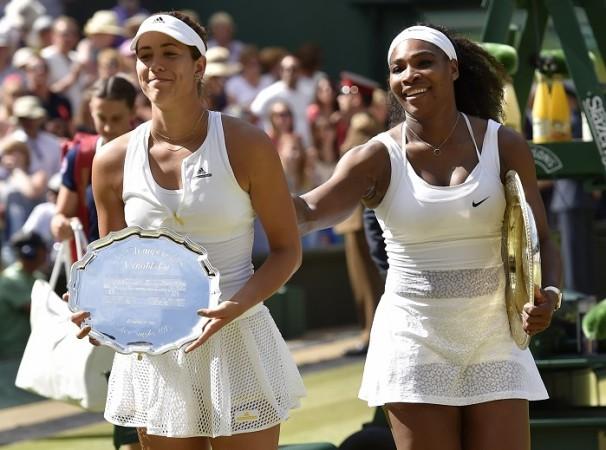 Garbine Muguruza Serena Williams