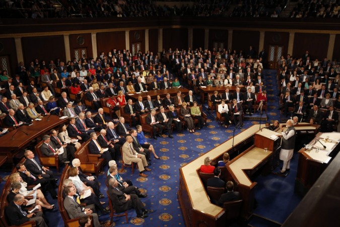 Modi Addressing U.S Congress