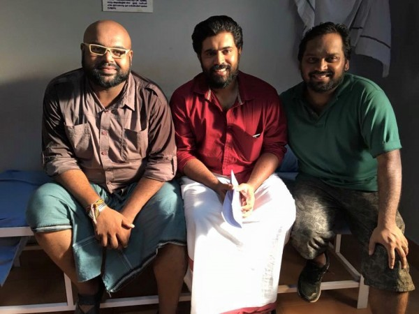 Sidhartha Siva, Nivin Pauly and George C Willaims