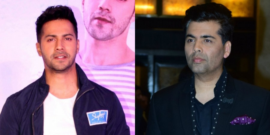 Varun Dhawan and Karan Johar