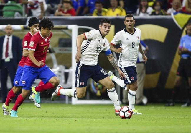 James Rodriguez Colombia Costa Rica