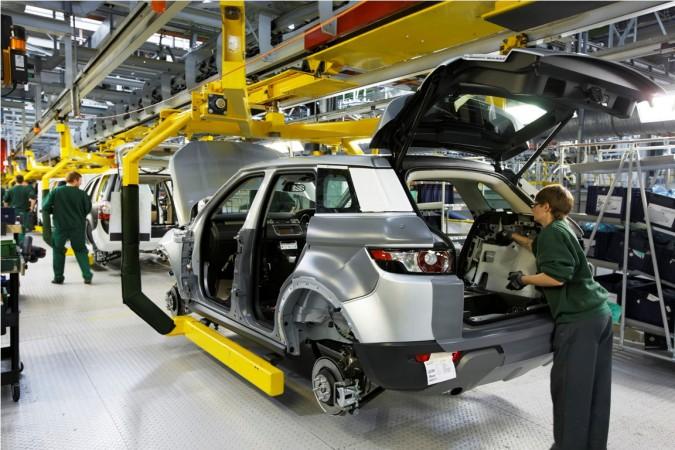 Jaguar and Land Rover Halewood plant