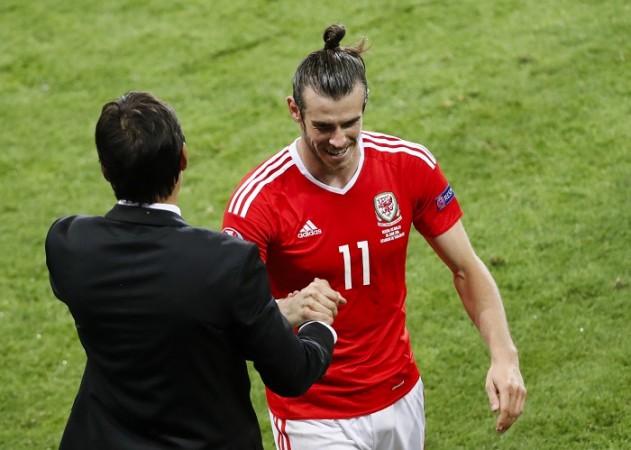Chris Coleman Gareth Bale Wales