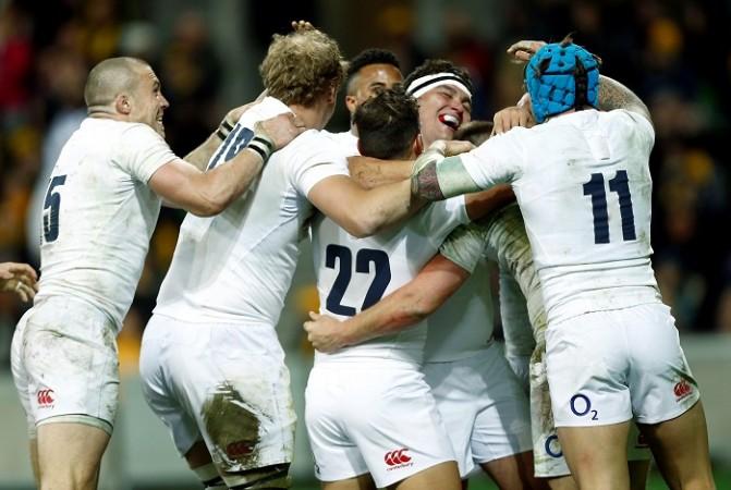 England rugby Australia