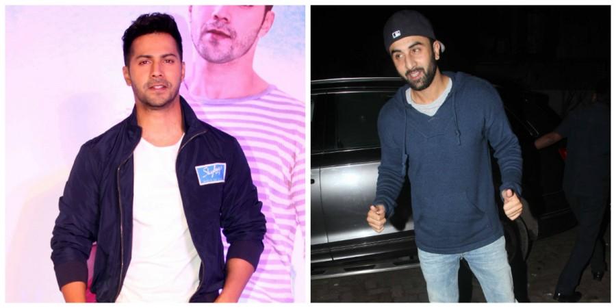 Varun Dhawan and Ranbir Kapoor