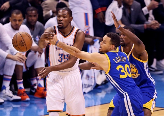 a61a00b7af2 NBA News  Kevin Durant to play with Steph Curry and Klay Thompson after Golden  State Warriors decision